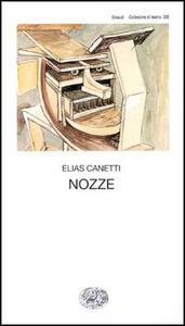 Nozze - Elias Canetti - copertina