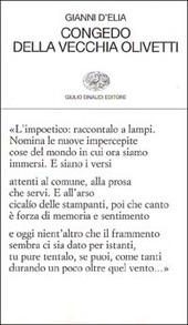 Congedo della vecchia Olivetti