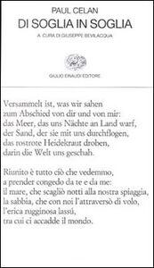 Foto Cover di Di soglia in soglia, Libro di Paul Celan, edito da Einaudi