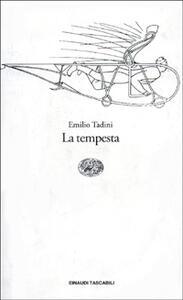 La tempesta - Emilio Tadini - copertina