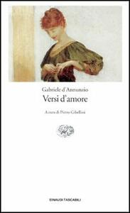 Versi d'amore - Gabriele D'Annunzio - copertina