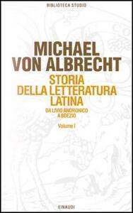 Storia della letteratura latina. Vol. 1: La letteratura dell'Età repubblicana. - Michael von Albrecht - copertina
