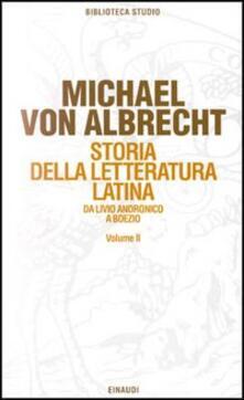 Winniearcher.com Storia della letteratura latina. Vol. 2: Letteratura dell'Età augustea e della prima età imperiale. Image