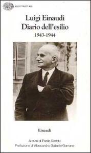 Diario dell'esilio (1943-1944) - Luigi Einaudi - copertina