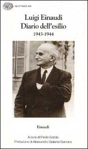 Libro Diario dell'esilio (1943-1944) Luigi Einaudi