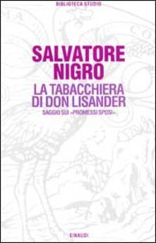 La tabacchiera di don Lisander. Saggio sui «Promessi sposi».pdf