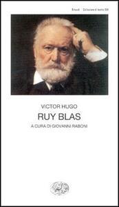 Ruy Blas - Victor Hugo - copertina