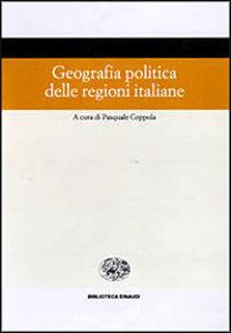 Libro Geografia politica delle regioni italiane