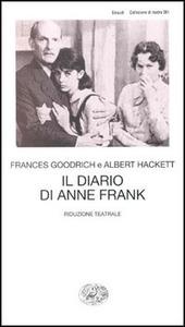 Il diario di Anne Frank. Riduzione teatrale