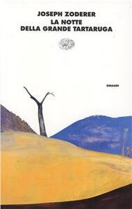La notte della grande tartaruga - Joseph Zoderer - copertina