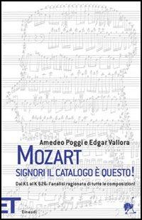 Mozart. Signori il catalogo è questo
