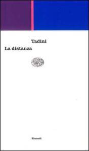 La distanza - Emilio Tadini - copertina