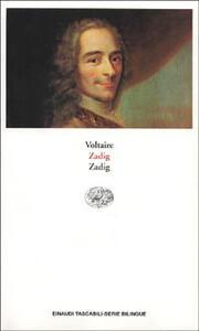Zadig. Testo originale a fronte - Voltaire - copertina
