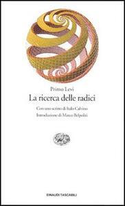 La ricerca delle radici - Primo Levi - copertina
