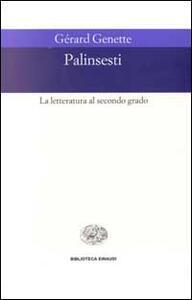 Palinsesti. La letteratura al secondo grado - Gérard Genette - copertina