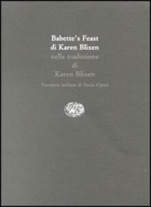 Squillogame.it Babette's feast-Babette's gaestebud-Il pranzo di Babette Image