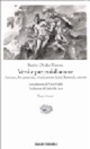 Versi e precetti d'amore - P. Nasone Ovidio - copertina