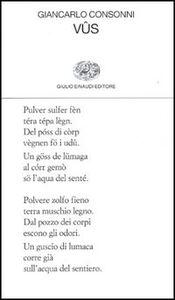 Foto Cover di Vus, Libro di Giancarlo Consonni, edito da Einaudi