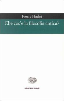 Che cosè la filosofia antica?.pdf
