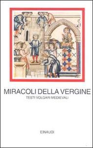 I miracoli della Vergine - copertina