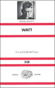 Watt - Samuel Beckett - copertina