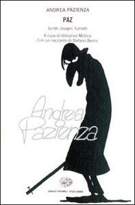 Foto Cover di Paz. Scritti, disegni, fumetti, Libro di Andrea Pazienza, edito da Einaudi