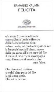Libro Felicità Ermanno Krumm