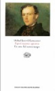 Geroj nasego vremeni-Un eroe del nostro tempo - Michail Jur'evi Lermontov - copertina
