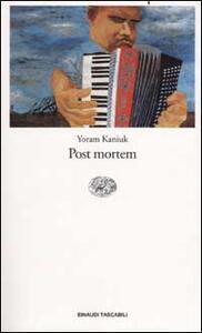 Post mortem - Yoram Kaniuk - copertina