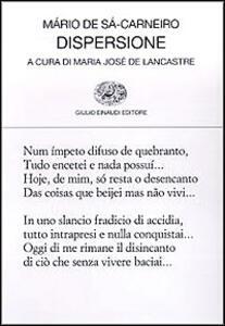 Dispersione - Mário de Sá-Carneiro - copertina