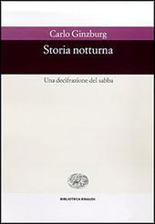 Copertina  Storia notturna : una decifrazione del sabba