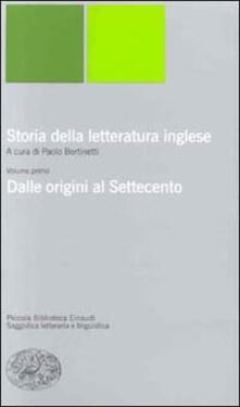 Equilibrifestival.it Storia della letteratura inglese. Vol. 1: Dalle origini al Settecento. Image