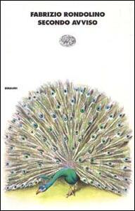 Secondo avviso - Fabrizio Rondolino - copertina