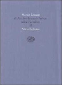 Manon Lescaut - Antoine-François Prévost - copertina