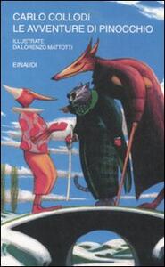 Le avventure di Pinocchio - Carlo Collodi,Lorenzo Mattotti - copertina