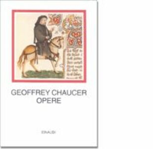 Libro Opere Geoffrey Chaucer
