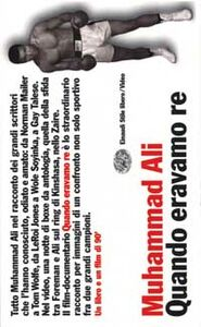 Libro Muhammad Ali. Quando eravamo re. Con videocassetta
