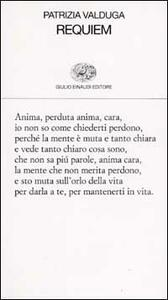 Requiem - Patrizia Valduga - copertina