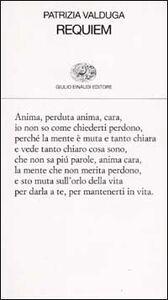 Libro Requiem Patrizia Valduga