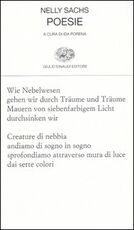 Libro Poesie. Testo tedesco a fronte Nelly Sachs