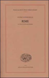 Rime - Guido Guinizzelli - copertina