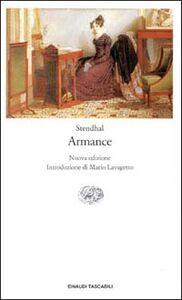 Foto Cover di Armance, Libro di Stendhal, edito da Einaudi