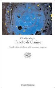 L' anello di Clarisse - Claudio Magris - copertina