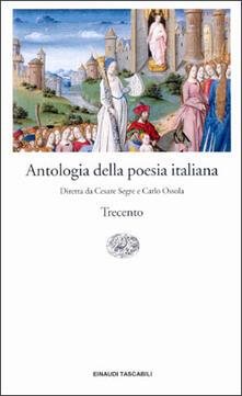 Antologia della poesia italiana. Vol. 2: Il Trecento..pdf