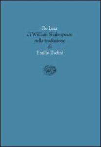 Re Lear - William Shakespeare - copertina