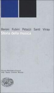 Foto Cover di Storia della musica, Libro di AA.VV edito da Einaudi