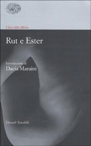 I libri della Bibbia. Rut e Ester - copertina