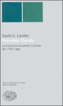 Prometeo liberato. Trasformazioni tecnologiche e sviluppo industriale nell'Europa occidentale dal 1750 ai giorni nostri - David S. Landes - copertina