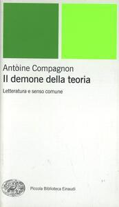 Il demone della teoria - Antoine Compagnon - copertina