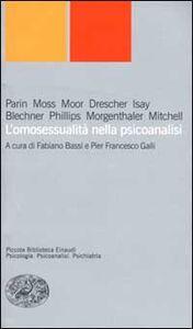 Libro L' omosessualità nella psicoanalisi